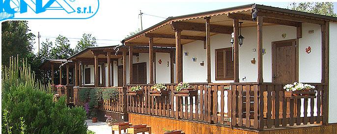 Produzione case mobili bungalow preingressi for Piani casa bungalow storia singola